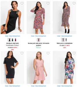 6 mooie jurken van bonpri