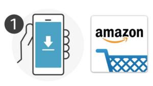voorbeeld van amazon app