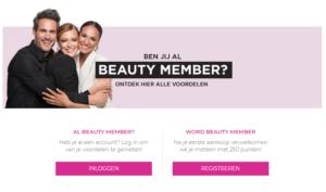 paris ixelles: voordelen als Beauty Member