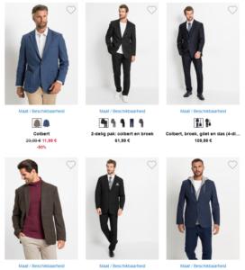 6 leuke kostuums voor heren