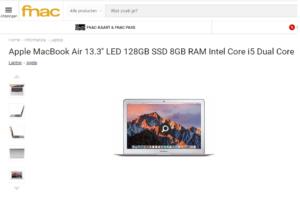 Apple MacBook Air met 20% korting bij Fnac