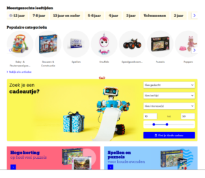 heel veel speelgoed bij bol;com