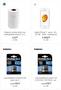 batterij of iphone kopen bij bruneau
