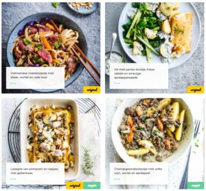 4 foodbag recepten