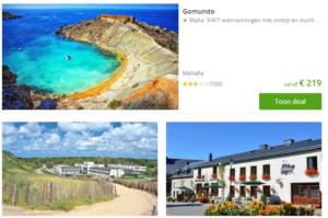 3 groupo travel deals